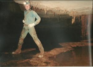 caver girl